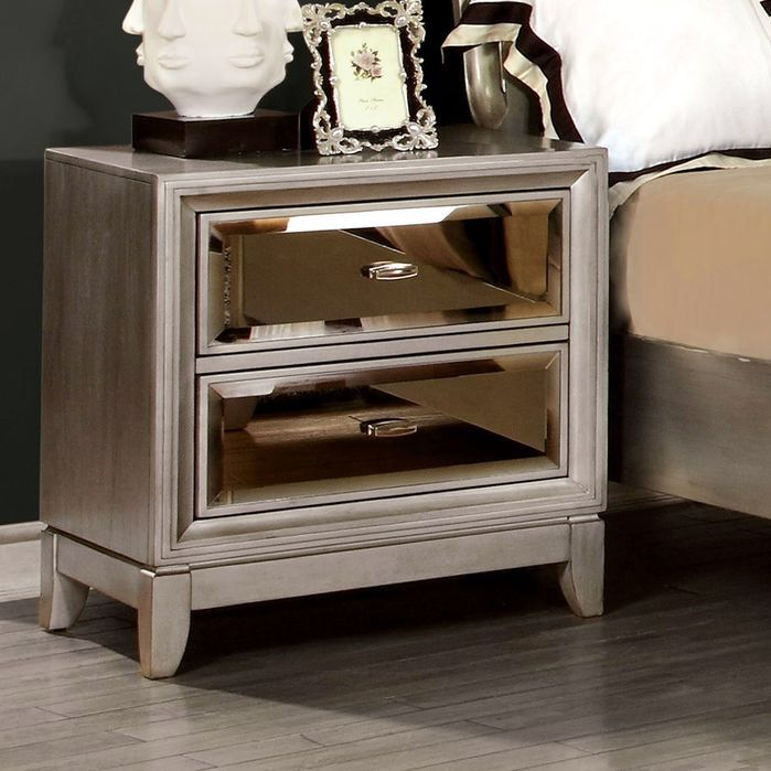 1000 Ideas About Mirrored Nightstand On Pinterest Mirror Furniture Mirrored Furniture And