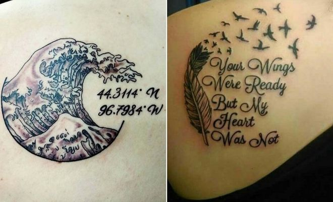 43 Emotional Memorial Tattoos To Honor Loved Ones Stayglam Memorial Tattoos Remembrance Tattoos Lost Loved Ones Tattoo