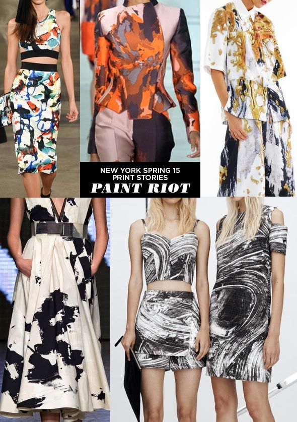 "We've been tracking this one for a while, but call it ""marble"". Paint Riot - Runway 