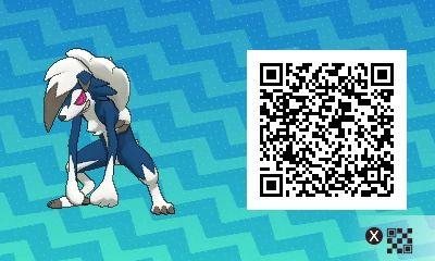 Shiny Lycanrock Midnight Form! Pokemon Sun / Moon QR Codes - Imgur
