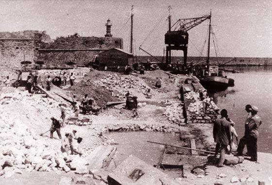 Κατεδάφιση Μικρού Κούλε, 1935