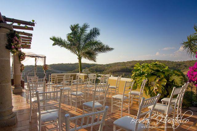 Ceremonia En Terraza Con Una Vista Espectacular Bodas