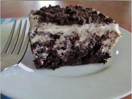Realmente sem palavras para essa delícia de bolo, experimente! - Aprenda a preparar essa maravilhosa receita de Bolo de chocolate com cobertura de creme de pudim