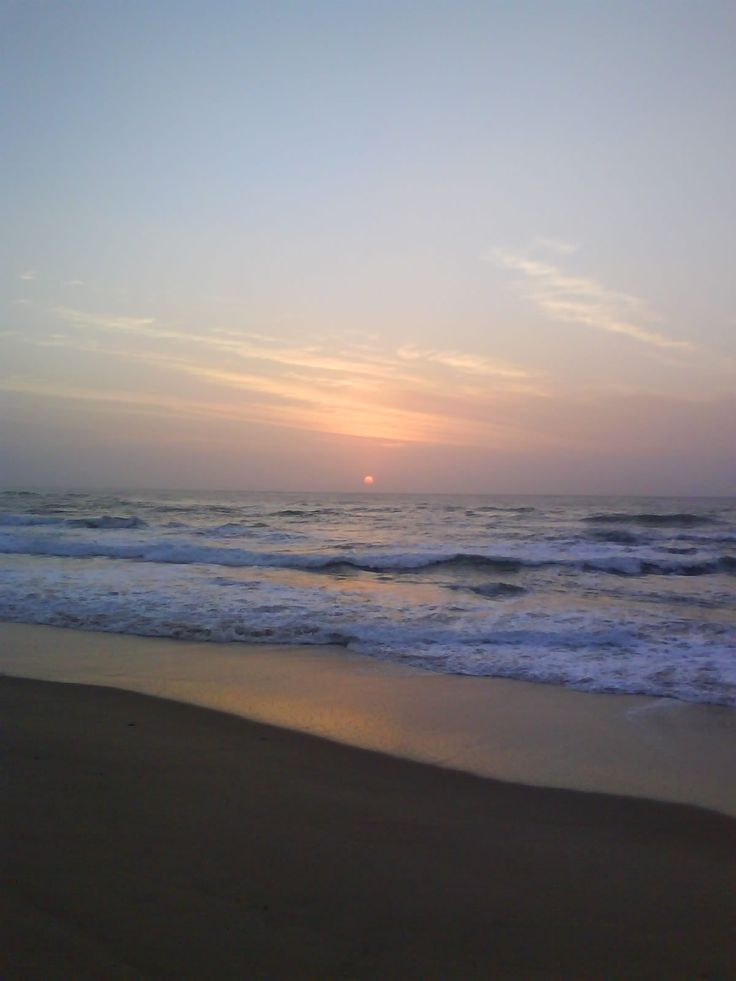 Scottburgh Beach Sunrise, Kzn South Coast