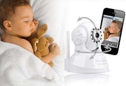 (ΝΕΟ!) €99 από €199 (Έκπτωση 50%) για 1 Wi-Fi Κάμερα για Μωρά Medisana για iOS, Android Συσκευές & Υπολογιστές! Νιώστε Ξέγνοιαστοι στη Δουλειά και σε Όποιο Δωμάτιο του Σπιτιού και αν Είστε! Μπορείτε Πλέον να Επιτηρείτε με Σιγουριά το Αγαπημένο σας Μωράκι, Ασύρματα με Εικόνα και Ήχο με την Εγγύση της Γερμανικής Εταιρείας Medisana! Με Άμεση Παραλαβή από τα Γραφεία του Skroutz.com.cy ή Παγκύπρια Αποστολή.