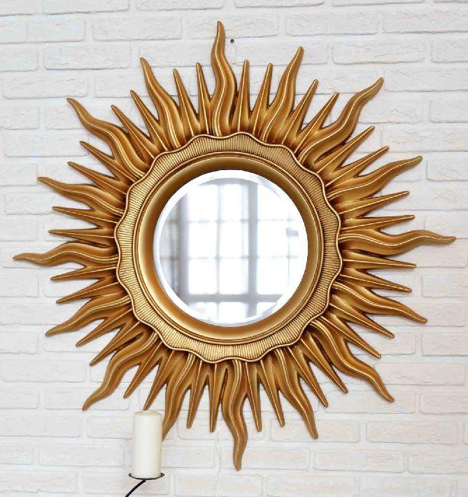 Купить золотое зеркало солнце