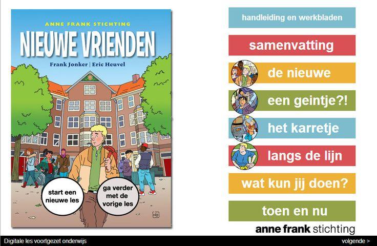 Anne Frank Stichting – Educatie – Nieuwe vrienden voortgezet onderwijs