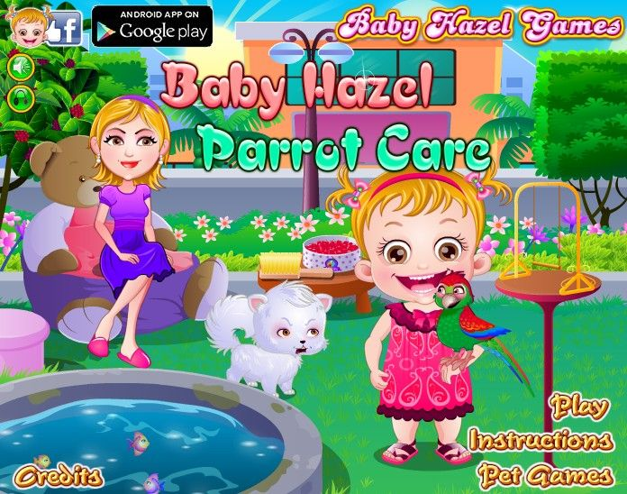 baby hazel sitting games