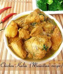 Mauritian Chicken Kalia