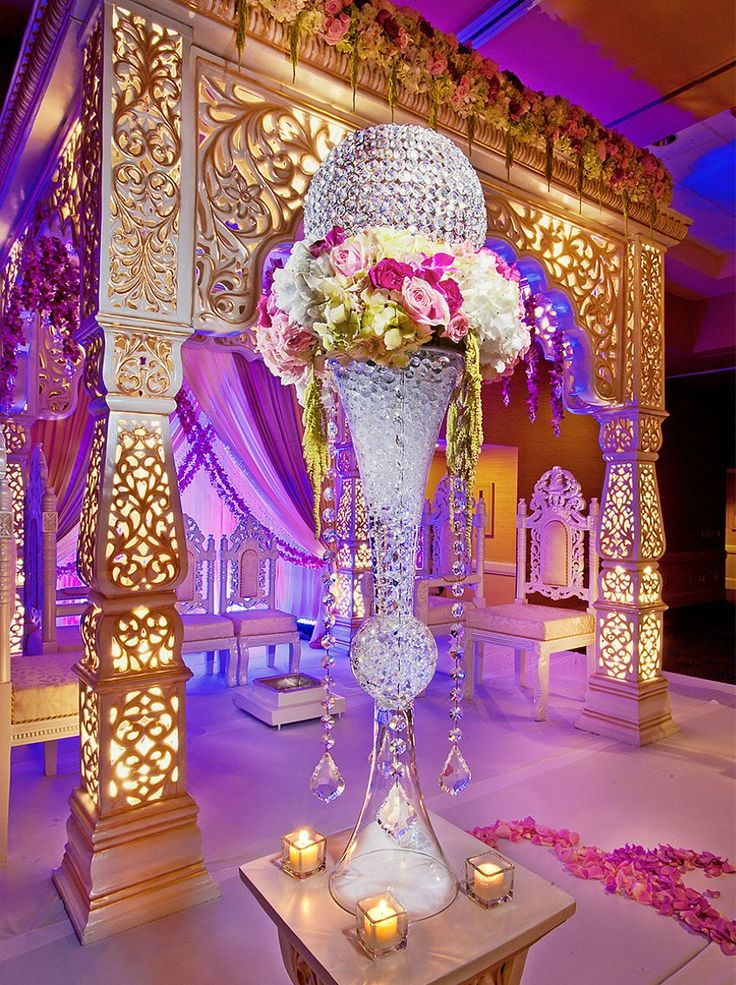 29 best Wedding Stages images on Pinterest | Indian ...