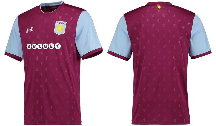 Camisas do Aston Villa 2017-2018 Under Armour | Mantos do Futebol Camisas de Futebol