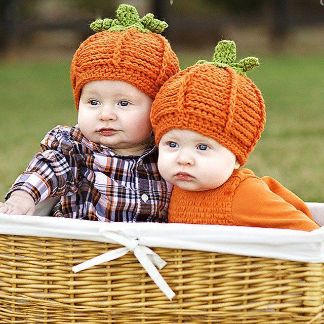 This pumpkin crochet hat is the perfect photo prop for your newborn or just a fun hat for the holiday season.