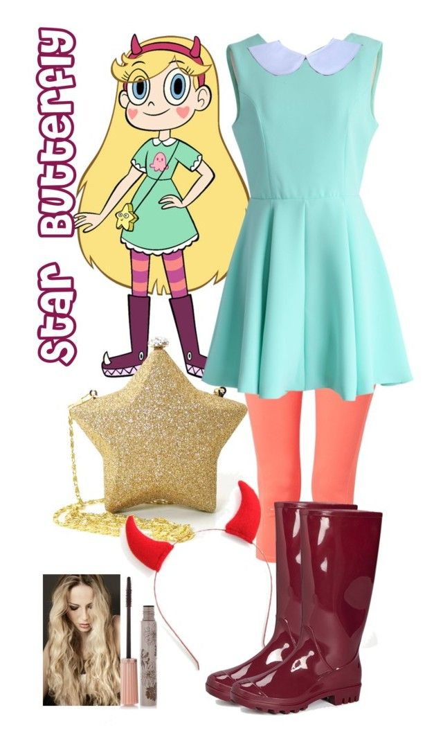 """""""Star Butterfly from Star vs the forces of evil"""" by crazydirectionergirl ❤ liked on Polyvore featuring prAna, Chicwish and Paul & Joe"""