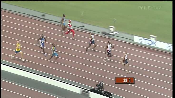 Men's 400m Final - Osaka 2007 - Jeremy Wariner - 43.45