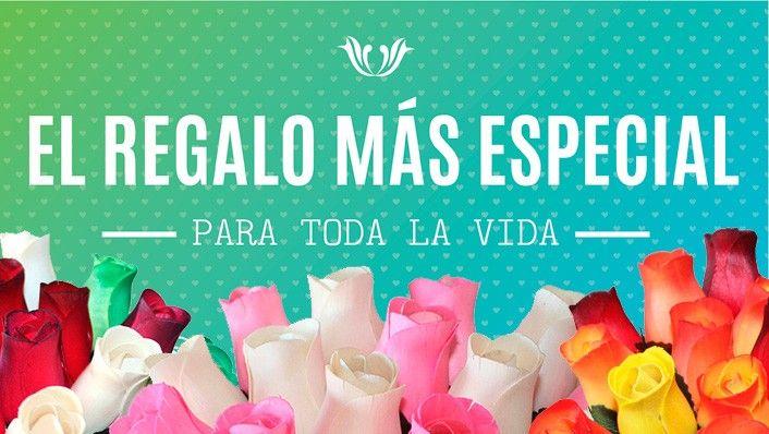Regalo especial para toda la vida! Regala rosasdemadera.org #regalooriginal #ramosderosas