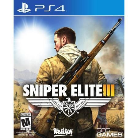 Sniper Elite III (Sony PlayStation 4, 2014) BRAND NEW + FREE SHIPPING