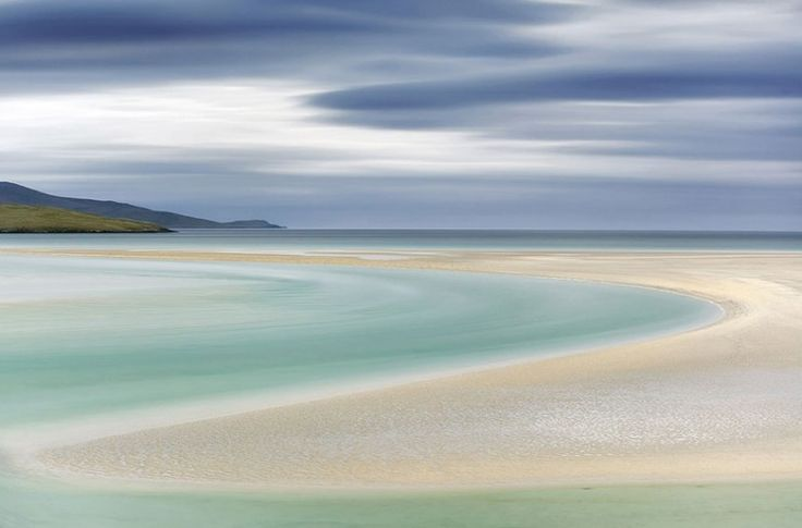Curves, Luskentyre, Isle of Harris, Scotland - Robert Birkby