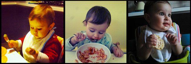 Autosvezzamento? Lasciare che il bambino ci guidi, alla scoperta del buon cibo.