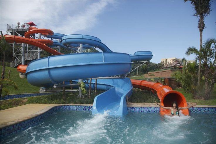 Wild Waves Water Park - Body Slides