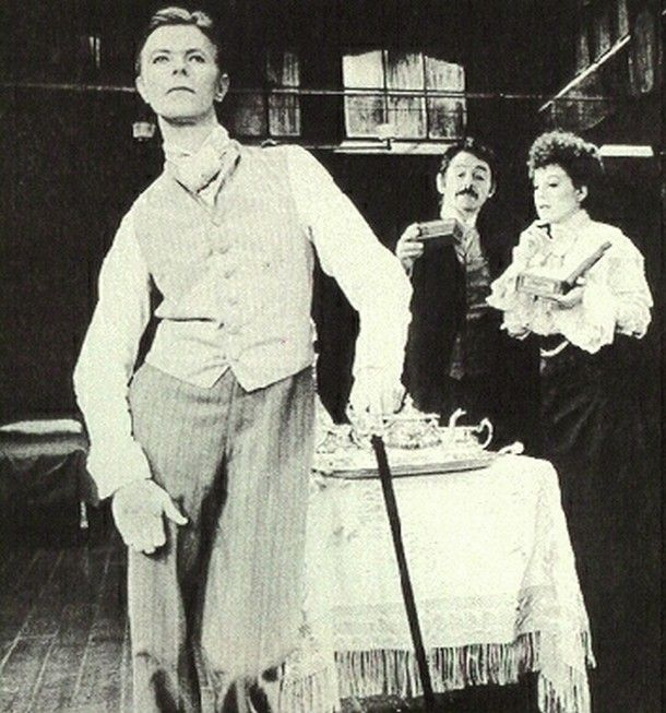 Today 9-23 in 1980: David Bowie made a splash on Broadway when he takes over the title role in The Elephant Man from Philip Anglim.