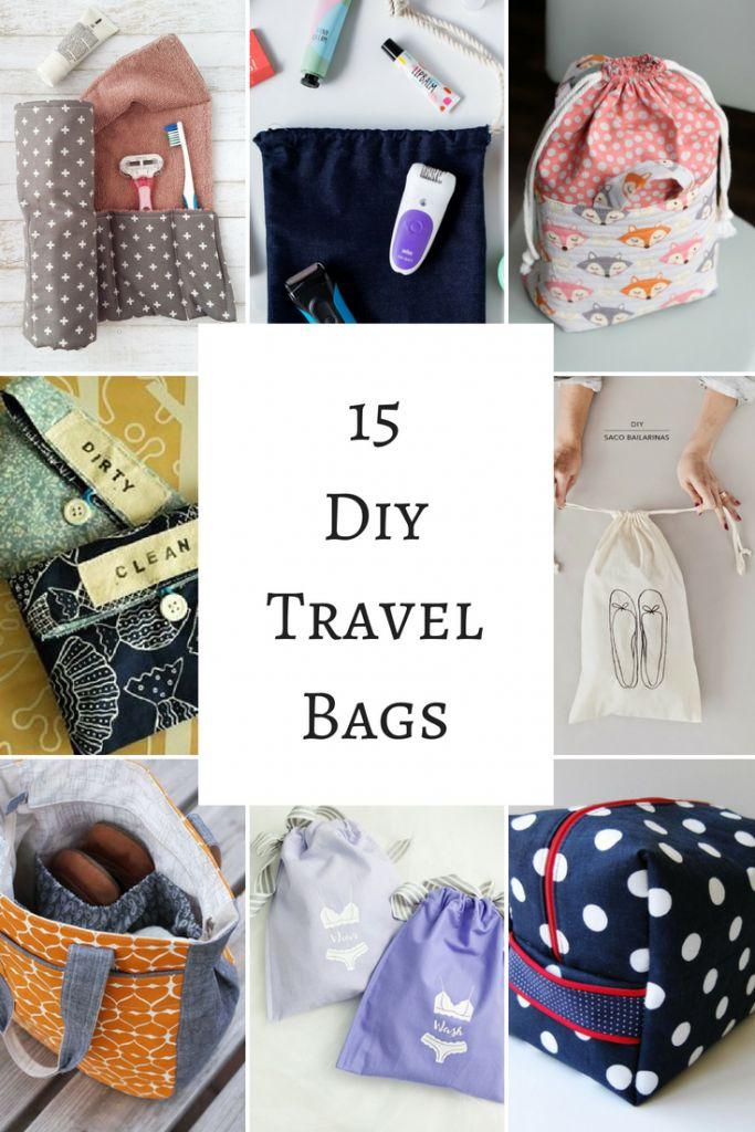 Cucito facile 15 diy travel bags che puoi fare anche tu for Appendi borse fai da te