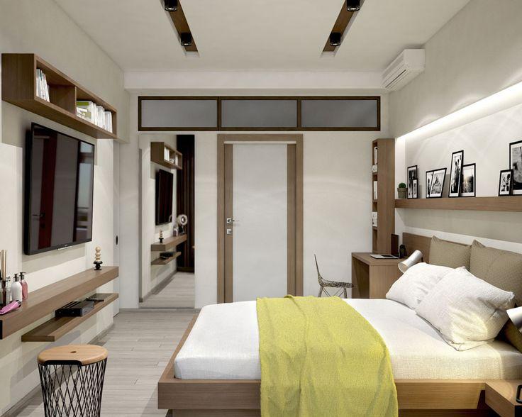 Дизайн-проект интерьера квартиры в ЖК «Панорама» (Ялта). Дизайн-студия ROMM. Симферополь    Разработка сайтов, веб дизайн, Графический дизайн, 3D визуализация, Дизайн интерьера, Дизайн среды