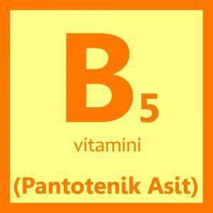 B5 vitamini faydaları nelerdir? B5 vitamini nelerde var, hangi besinlerde bulunur? B5 vitamini eksikliği belirtileri nelerdir? B5 vitamini fazla olan gıdalar.