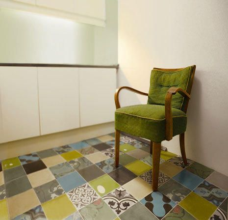 retro feeling by MOZA cement tile manufactory