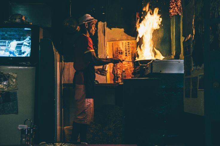 """Bladi y su restaurant """"SOMOS CUBA"""". Maravilloso lugar y paladar."""