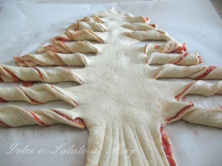Albero di Natale alla pizza di Dolce e Salato di Miky