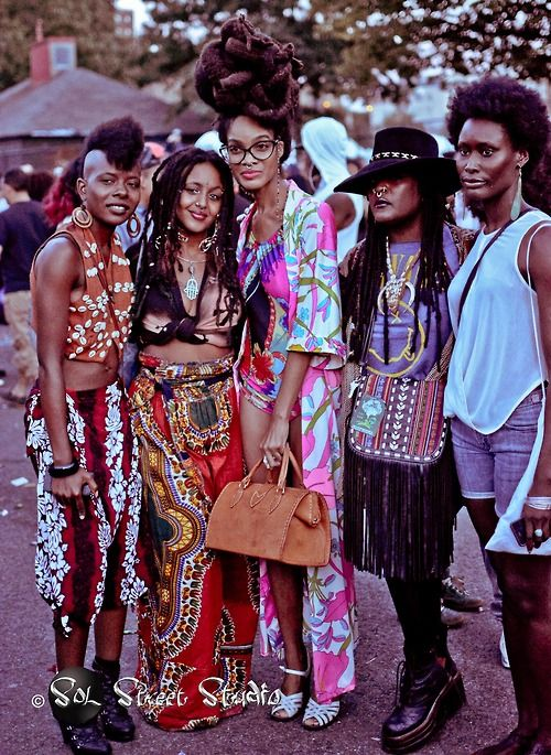 Afro punk fashion style and amazing hairstyle. -- I clearly need to get my style game up before going to afropunk either this summer or next year!!!