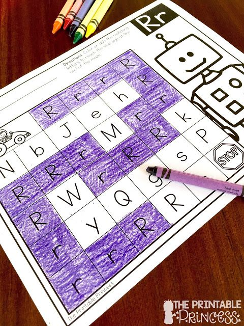 Letter Mazes! What a great idea to get kids familiar with letters. She's got several ideas for learning letters on this post.