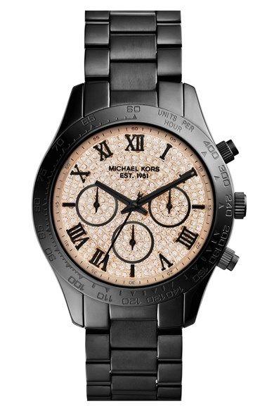 MICHAEL Michael Kors Michael Kors \u0027Layton\u0027 Chronograph Bracelet Watch, 44mm  (Nordstrom Exclusive