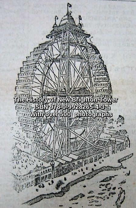 """Page 4 The Idea is born - The New Brighton Graydon Great Wheel & Tower Company Ltd. """"The history of New Brighton Tower & Grounds""""  ISBN 978-0-9928265-4-3"""