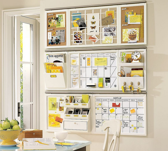 pottery barn office organizer. wall organizer idea from pottery barn for organizing orders and todo lists maybe command center office