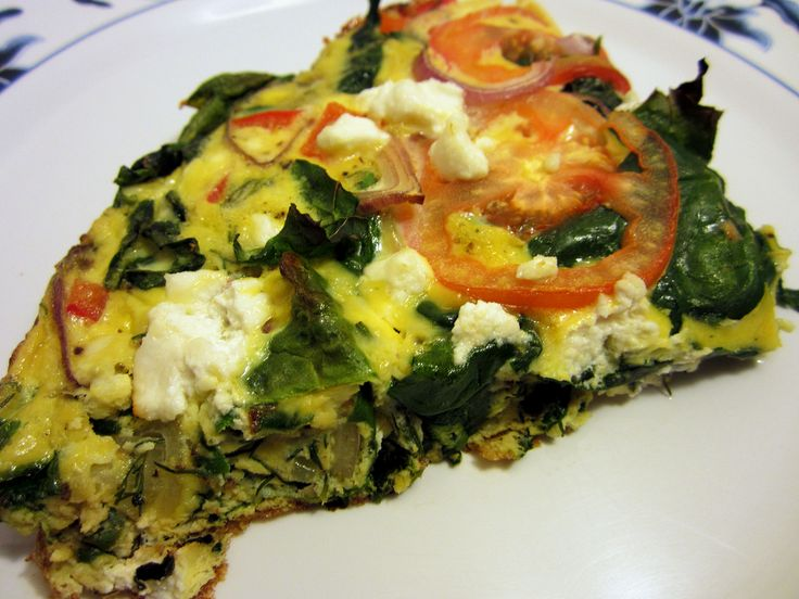 Quick and easy vegetable frittata recipe