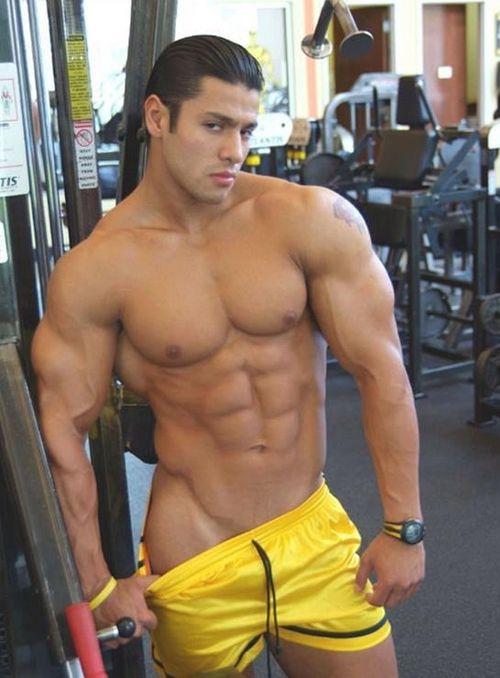 Men acting gay at gyms