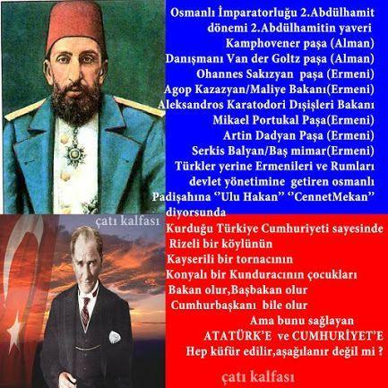 Kamaluzm algisına bir numunedirbu. Hakkı bilmek için tam tersinı anlayın Kemalistlik osmanlı düşmanlığıdir