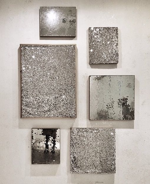 Silver And Gold Wall Art 25+ best silver wall decor ideas on pinterest | candle wall decor