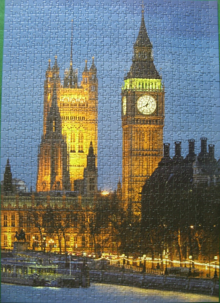 City lights (London), Ravensburger, 1000 stukjes