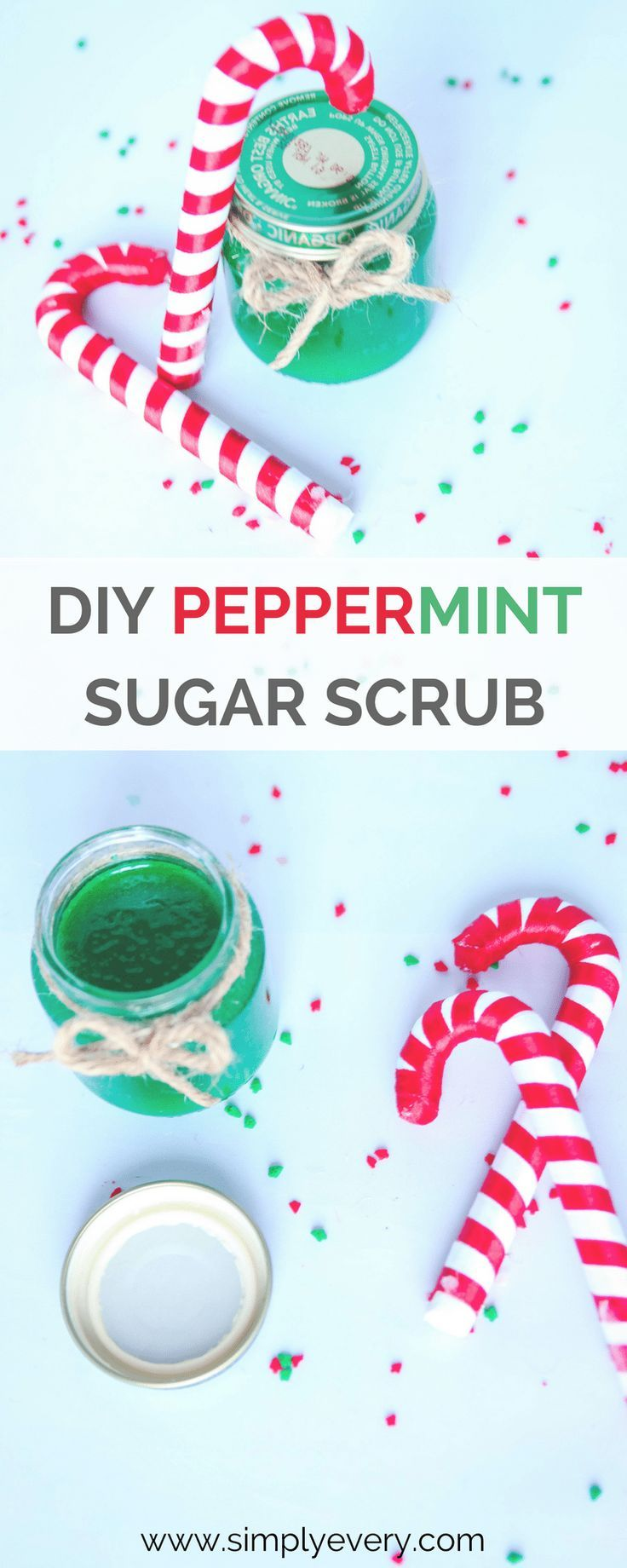 DIY Peppermint Sugar Scrub, beauty, pedicure, mom life, me time, AD, at home pedicure, simple ways to spoil yourself, pedicures, holiday gifts, diy gift ideas