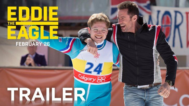 Pin for Later: Get Excited For 2016 Movies With Over 50 Trailers Eddie the Eagle When it opens: April 1