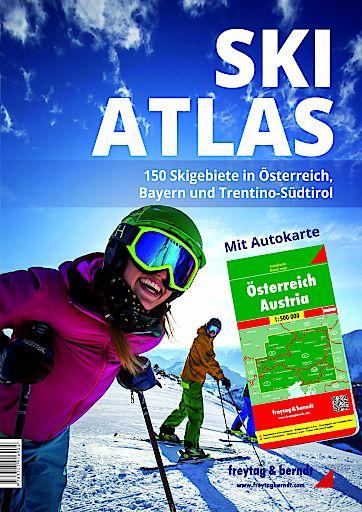 SKI-ATLAS - 150 Skigebiete in Österreich, Bayern und Trentino-Südtirol