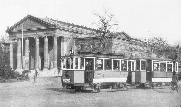 Heroe's square - Budapest around 1920
