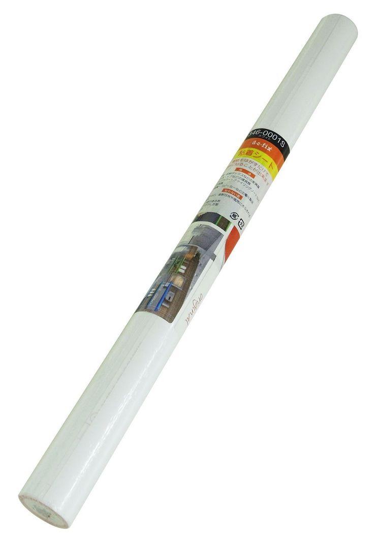 D C Fix, Folie, Design Uni Matt Weiß, Rolle 45 X 200 Cm