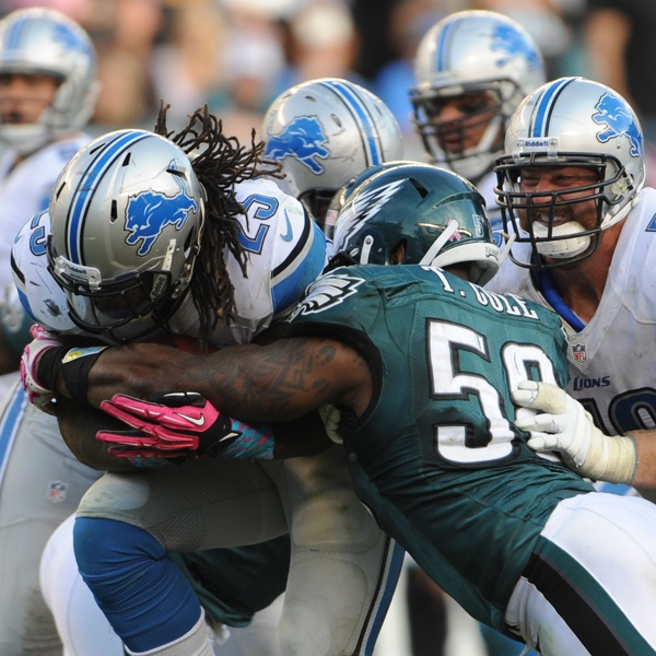 2013 Week 14: 12/8 #Eagles face off against the #Lions at the Linc.