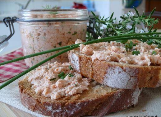 DIY : les rillettes de saumon avec un petit goût en plus !