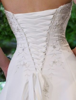 "Laceeis Corset Add 7"" to your wedding dress - I just installed one of these on a wedding dress and it was perfect!"
