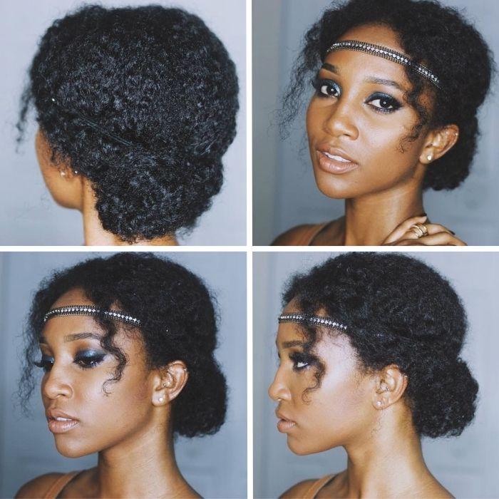 1001 Facons D Experimenter Avec Une Jolie Coiffure Cheveux Frises Cheveux Crepus Cheveux Frises Coiffure Cheveux Frises