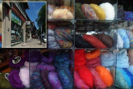 My favourite wool shop - hydrostone market - halifax